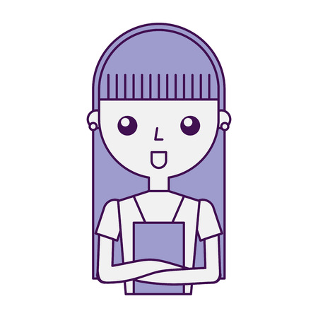 homemaker: housewife avatar character icon vector illustration design Illustration