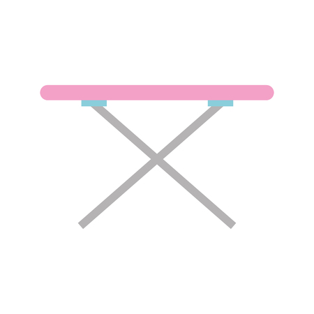 ironing board isolated icon vector illustration design Ilustrace