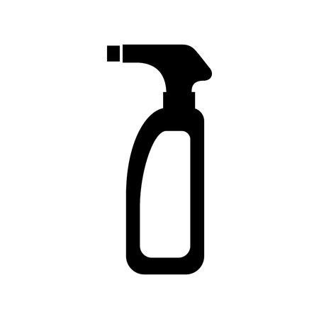 スプリンクラーのアイコン ベクトル イラスト デザイン ボトル