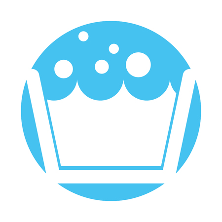 laundry tank isolated icon vector illustration design