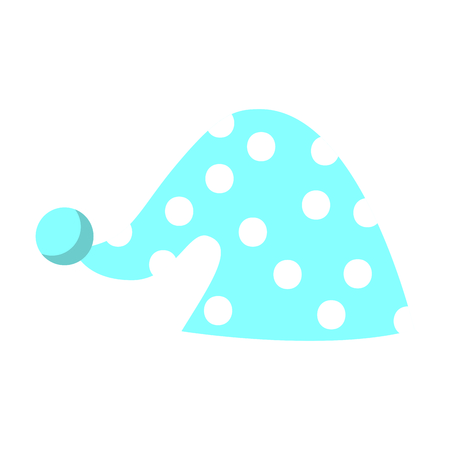 cute sleeping hat icon vector illustration design