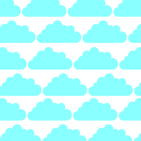 cloud sky pattern background vector illustration design