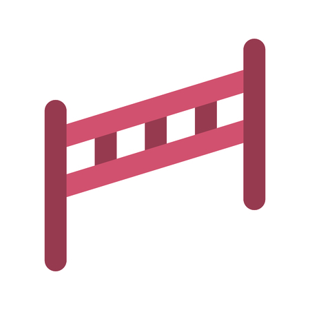 fence wooden isolated icon vector illustration design