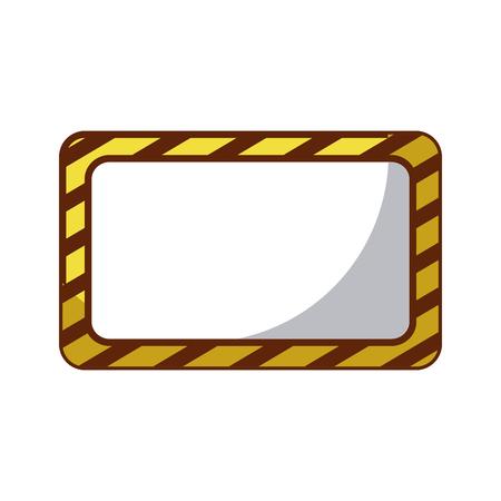 Costruzione bandiera icona icona illustrazione vettoriale Archivio Fotografico - 83000969