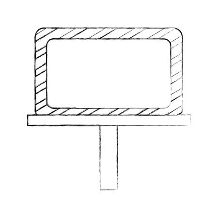 Bau Banner Bord Symbol Vektor-Illustration Design Standard-Bild - 83060048