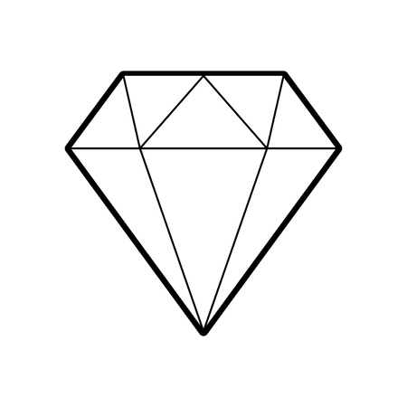 diamond figure isolated icon vector illustration design