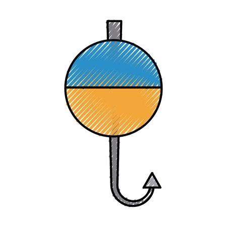 fish hook isolated icon vector illustration design 版權商用圖片 - 82983455