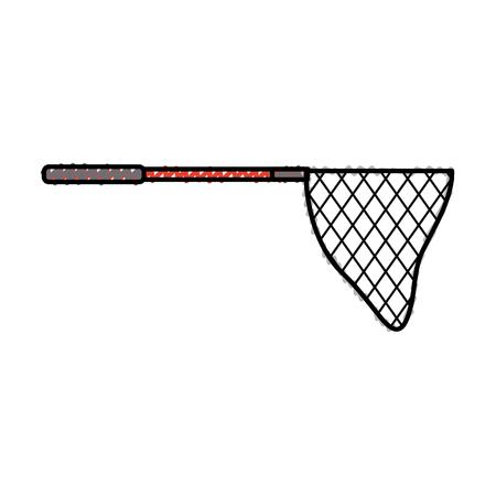 fishing net isolated icon vector illustration design Illustration