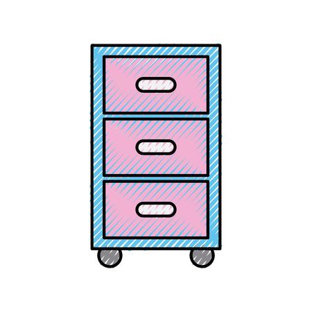 Vector de illustratieontwerp van het klerenladen geïsoleerd pictogram