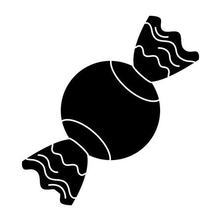 sweet candy isolated icon vector illustration design Çizim