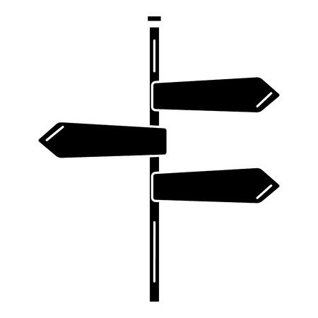 traffic signal arrows icon vector illustration design