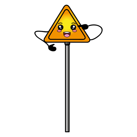 traffic signal   character vector illustration design Ilustrace