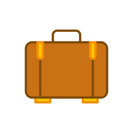 suitcase travel isolated icon vector illustration design Banco de Imagens - 83106510