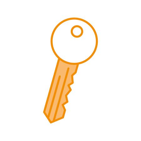 key room door icon vector illustration design