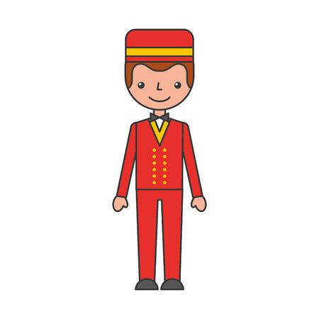 Boybell avatar caractère icône illustration vectorielle design Banque d'images - 83107495