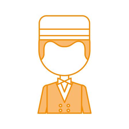 Boybell avatar caractère icône illustration vectorielle design Banque d'images - 83107686