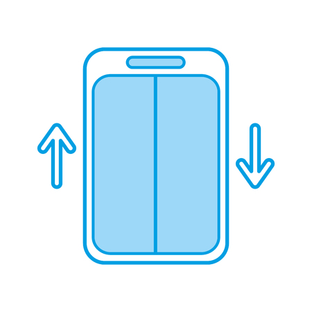 elevator service isolated icon vector illustration design 向量圖像