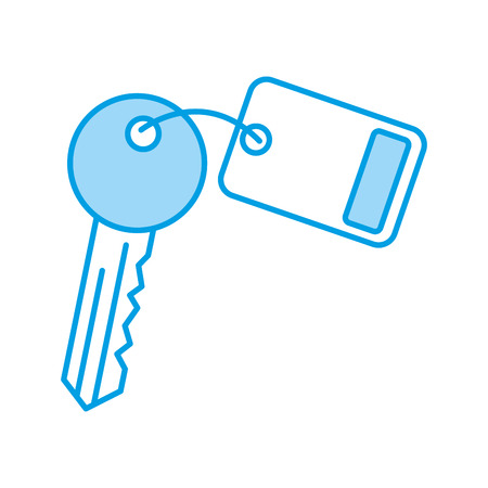 sleutel kamer deur pictogram vector illustratie ontwerp