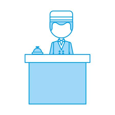 Boybell avatar caractère icône illustration vectorielle design Banque d'images - 83136582