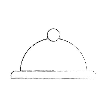 Serveur icône de la barre isolée illustration vectorielle conception Banque d'images - 83137186