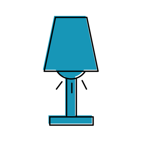Room lamp isolated icon vector illustration design