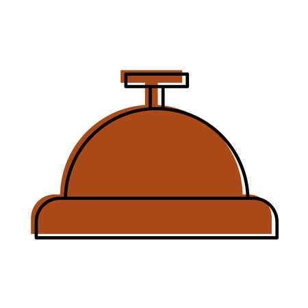 Bouton cloche icône isolée conception d'illustration vectorielle Banque d'images - 83139151