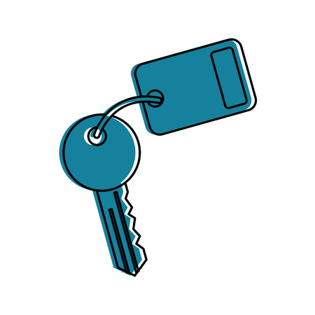 key room door icon vector illustration design