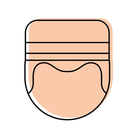 Boybell avatar caractère icône illustration vectorielle design Banque d'images - 83139181
