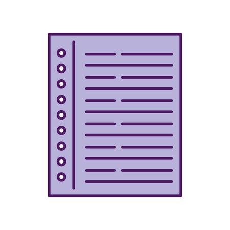 노트북 리프 격리 된 아이콘 벡터 일러스트 레이 션 디자인