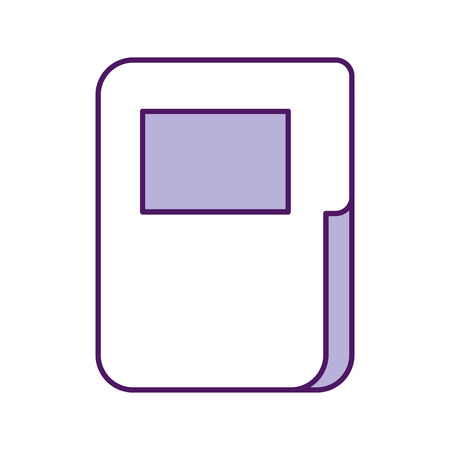 folder document isolated icon vector illustration design Imagens - 83139993