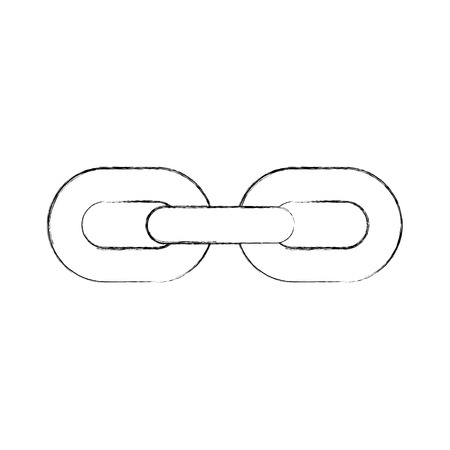 chain metal isolated icon vector illustration design