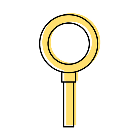 Search magnifying glass icon vector illustration design, isolated