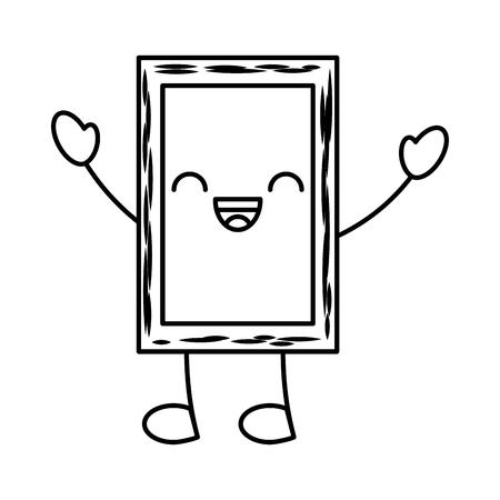 chalkboard school character vector illustration design