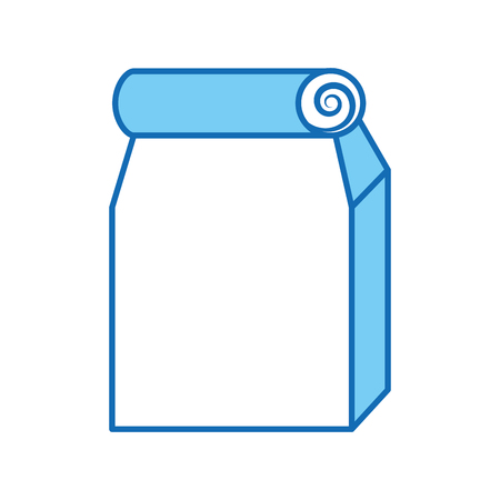 Lunch bag in paper bag vector illustration design Stock Vector - 83171347