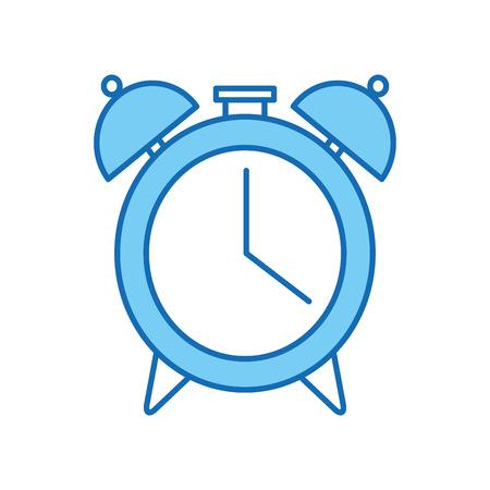 alarm clock isolated icon vector illustration design