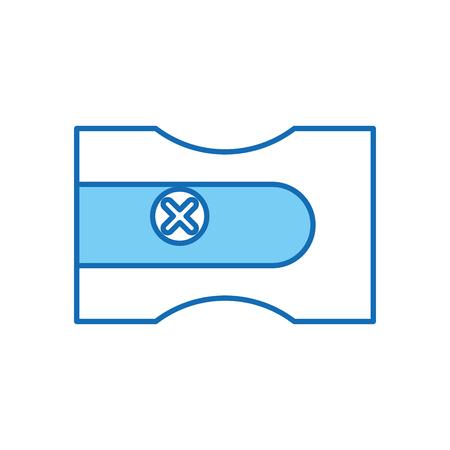 Spitzer Schule isoliert Symbol Vektor-Illustration , Design , Standard-Bild - 83171418