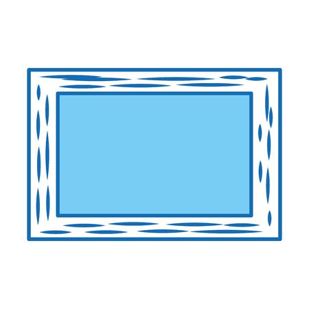 Escola de quadro isolado ícone design de ilustração vetorial Foto de archivo - 83171675