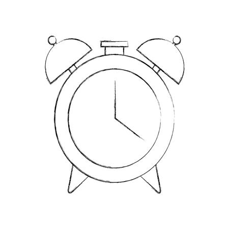 Wecker isoliert Symbol Vektor-Illustration , Design , Standard-Bild - 83172885