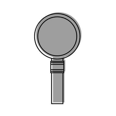 magnifying glass isolated icon vector illustration design Stock Vector - 83170790