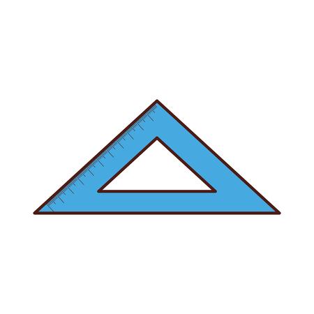 rule school isolated icon vector illustration design Ilustracja