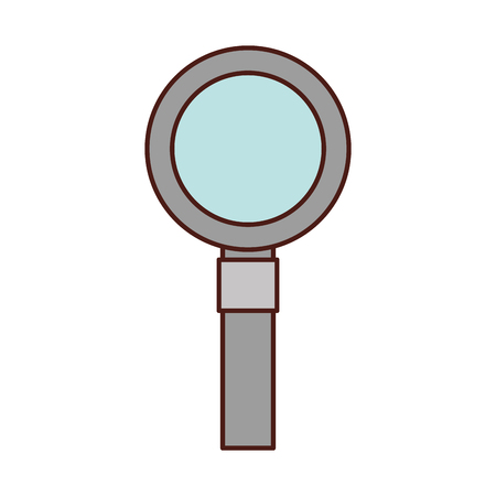 magnifying glass isolated icon vector illustration design Stock Vector - 83172574
