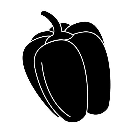pepper fresh isolated icon vector illustration design