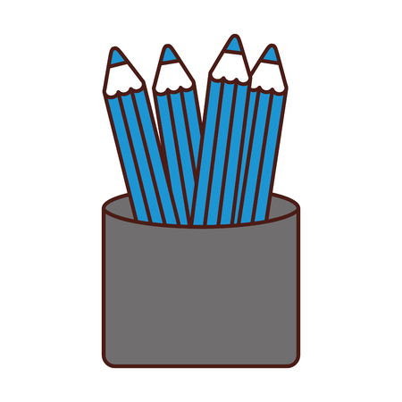 school colors isolated icon vector illustration design