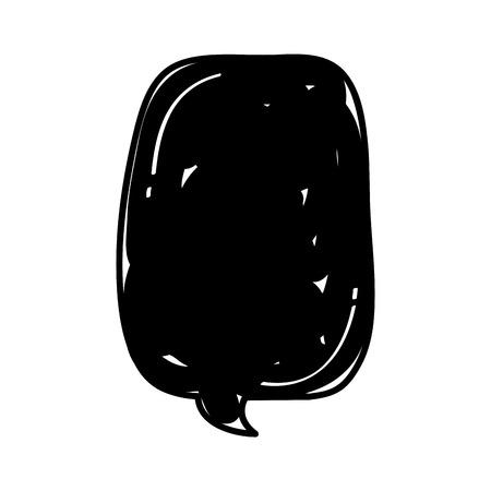 speech bubble isolated icon vector illustration design Stock fotó - 83171500