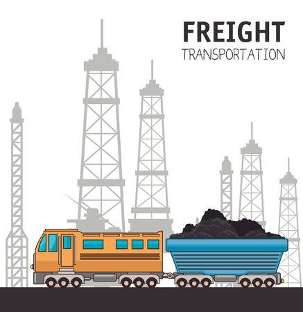 Trasporto merci e consegna logistica infographic illustrazione vettoriale illustrazione grafica Archivio Fotografico - 83177654