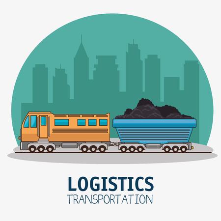 Trasporto di trasporto e consegna logistica infografica illustrazione vettoriale illustrazione grafica Archivio Fotografico - 83178951