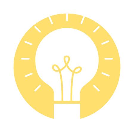 bulb light isolated icon vector illustration design Banco de Imagens - 83178961