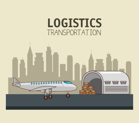 Trasporto merci e consegna logistica infographic illustrazione vettoriale illustrazione grafica Archivio Fotografico - 83177658