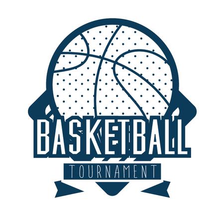 basketbal sport vector illustratie grafisch ontwerp