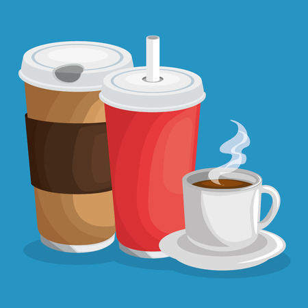 drinks icon over blue background vector illustration graphic design